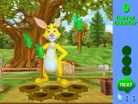 Rabbit Karotten Sammeln