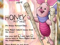 Ferkel Honig Sammeln